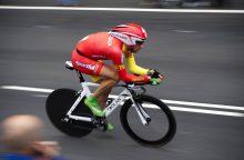 Dviratininkas G Bagdonas lenktynėse Ispanijoje užėmė 15-ąją vietą
