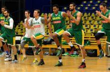 Brazilijos krepšininkai kontrolinėse rungtynėse sutriuškino rumunus