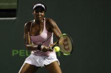 "V. Williams – ""Miami Open"" ketvirtfinalyje"