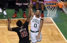 """Charakteris: """"Celtics"""" laimėjo trečią kartą iš eilės"""