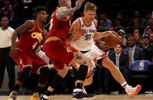 """M. Kuzminskas ir """"Knicks"""" neatsilaikė prieš NBA čempionus"""