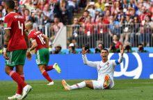Pasaulio čempionatas: Portugalija nugalėjo Maroką