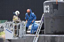 Dingusi švedų žurnalistė žuvo per nelaimingą atsitikimą povandeniniame laive