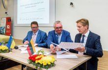 Klaipėdos ir Chersono uostai stiprina bendradarbiavimą