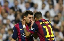 "Tikruoju ""Barcelona"" prezidentu vadinamas G. Pique: Neymaras lieka"