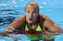 Plaukikė R. Meilutytė Brazilijoje iškovojo auksą
