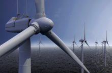 Pajudės vėjo jėgainių statybos jūroje