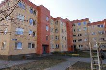 Pernai daugiausiai socialinių būstų įgijo Klaipėda