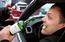 Šiemet įtarimų dėl girtumo sulaukė per 130 vairuotojų