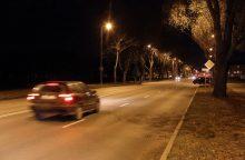 Miestiečiams gatvėse trūksta šviesos