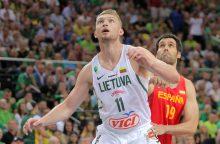 Europos krepšinio čempionate nežais D. Sabonis