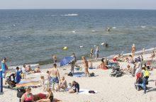 Paplūdimyje siaučia vagys: mergina prarado kuprinę