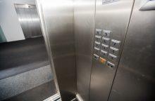 Niujorke išgelbėta tris paras lifte praleidusi moteris