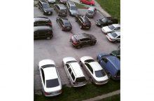 Kiemuose – tūkstantis vietų mašinoms