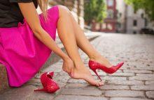 Kelionės priešas – nauji batai