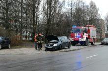Golfas Debreceno gatvėje nukentėjo dukart