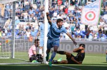 """""""Serie A"""" čempionate – """"Lazio"""" ir """"Juventus"""" puolimo šou"""