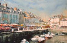 Rūtų galerijoje – S. Lysyy akvarelės