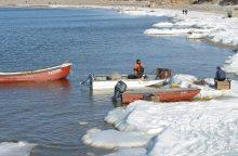 Žvejai pajūryje kol kas lieka be uostelių