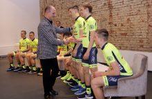 """Pristatyta nauja dviratininkų komanda – """"Klaipėda"""""""