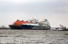 Pradedami uosto kanalo valymo darbai ties SGD terminalu