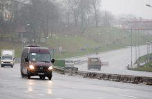 Telšių apskrityje eismo sąlygas sunkina rūkas