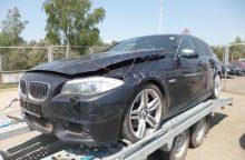 Pasieniečiai šūviais stabdė Vokietijoje vogto BMW vairuotoją
