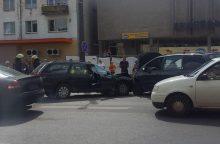 Vytauto prospekte – trijų mašinų avarija