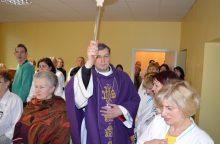 Kauno klinikinėje ligoninėje pašventinta nauja koplyčia
