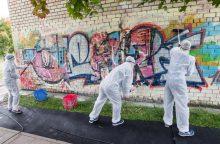 Gatvės menininkai: legalių vietų piešti grafičius Vilniuje galėtų būti daugiau