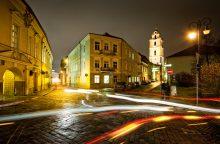 Vilniaus valdžia turi apsispręsti dėl gatvių apšvietimo modernizavimo