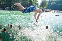 Vanduo švarus ne visose maudyklose