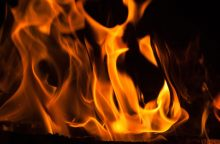 Kelmėje per gaisrą žuvo moteris