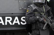 Girtas vyras pamelavo apie sprogmenį Klaipėdos prekybos centre