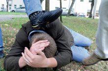 Panevėžyje sumuštas neblaivus jaunuolis