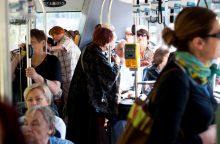 Ar Kauno autobusuose ir troleibusuose – saugu?