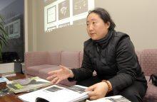 Kinijos teatralai neslepia noro mokytis iš lietuvių