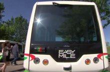 Estai vėl mus aplenkė: Taline važinės autobusai be vairuotojų