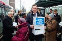 100 tūkst. vilniečių balsuos dėl nemokamo viešojo transporto