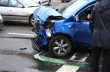 Per savaitę eismo įvykiuose – pusšimtis nukentėjusių žmonių
