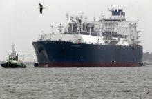 Lietuva iš JAV nusipirko suskystintų gamtinių dujų