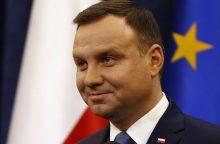 A. Duda: didžiausią grėsmę NATO šalims kelia Rusija
