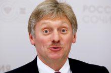 D. Peskovas apie kyšininkavimo skandalą Latvijoje: tai dalis atakos prieš Maskvą