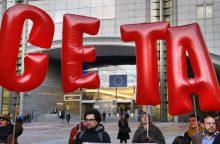 Belgija planuoja naują derybų ratą dėl CETA