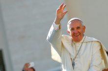 Švedijos liuteronės: popiežius Pranciškus teikia vilčių dėl permainų
