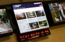 JAV nauju rusišku televizijos kanalu meta iššūkį Kremliui