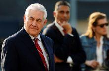 JAV valstybės sekretorius Meksikoje glaisto nesutarimus