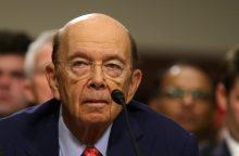 Naujajam JAV prekybos sekretoriui – klausimai dėl ryšių su Rusija
