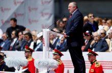 Gruzijos prezidentas tiki, kad šalis greitai įstos į NATO