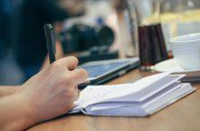 Kiek ilgai dar gebėsime rašyti ranka?